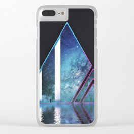Galaxy Viewing Room Clear iPhone Case