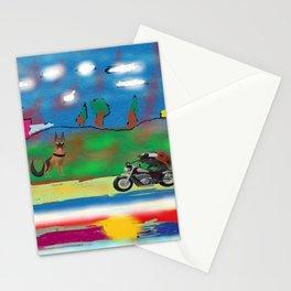 The motorized animals Stationery Cards