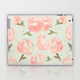 Syana's Cabbage Roses Laptop & iPad Skin
