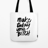 motivation Tote Bags featuring Motivation by Motivational