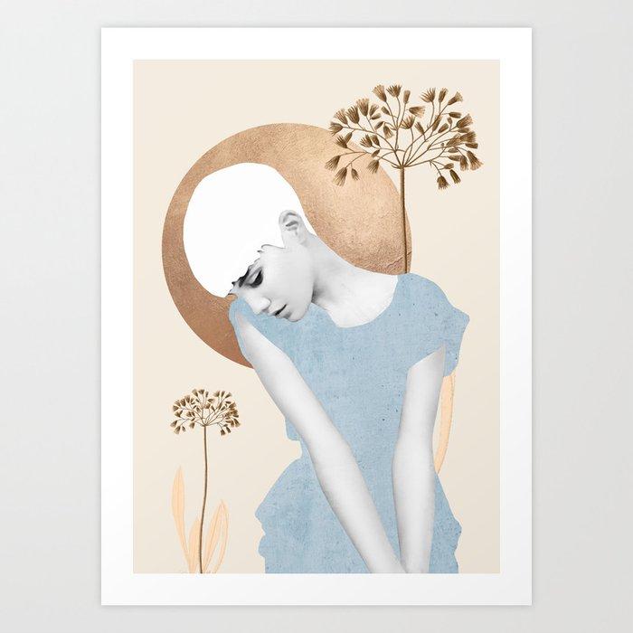 Gentle Beauty 6 Art Print
