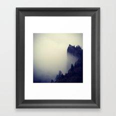 Heartbreak Ridge, Table Mountain WA Framed Art Print