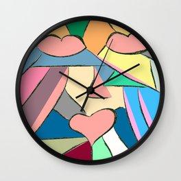 triptico 1 Wall Clock