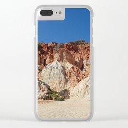 Algarve beach Portugal Clear iPhone Case