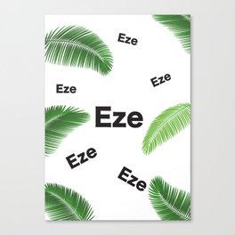 EZE (KING JESUS) Canvas Print