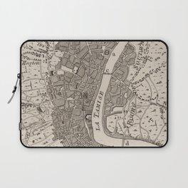 Vintage Map of London England (1764) Laptop Sleeve