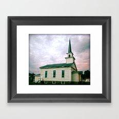 Church 2 Framed Art Print