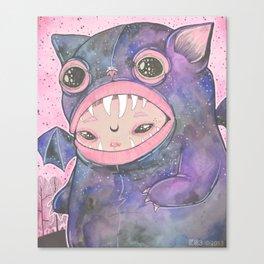 Boooh! Canvas Print
