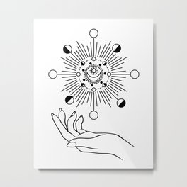 I Rule The Sun, The Moon & All The Stars Metal Print