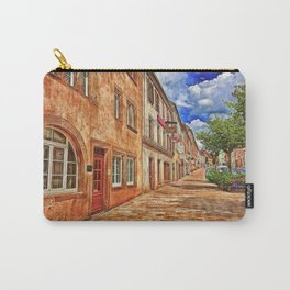 Sarre Union France Street Scene Carry-All Pouch