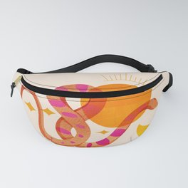Abstraction_SUN_MOON_SNAKE_Minimalism_001 Fanny Pack