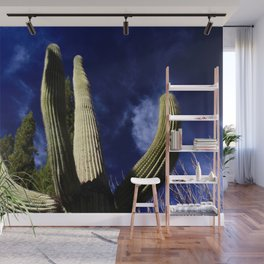 Saguaro Cactus at St Anthony's Wall Mural