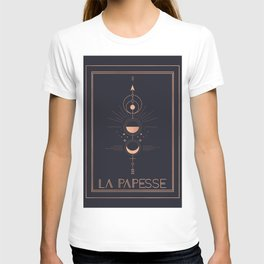 La Papesse or The High Priestess Tarot T-shirt