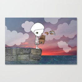 Gone Fishing (2) Canvas Print