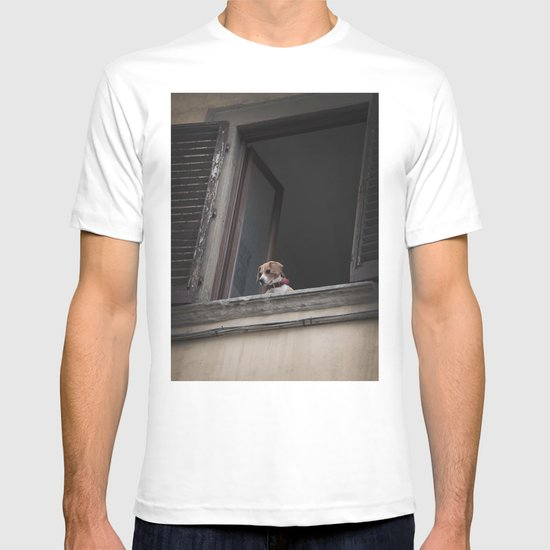 take me with you _ Beagle in a window T-shirt