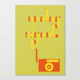 Analog Signal Canvas Print