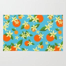 Orange Blossom Daydreams Rug