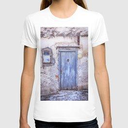 Old Blue Italian Door T-shirt