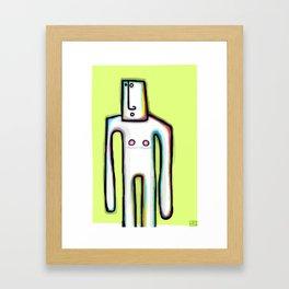 Shado Uno Framed Art Print