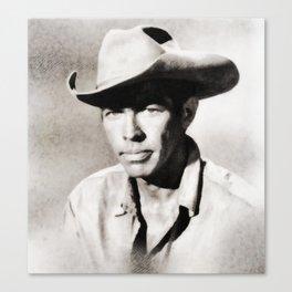 James Coburn, Actor Canvas Print