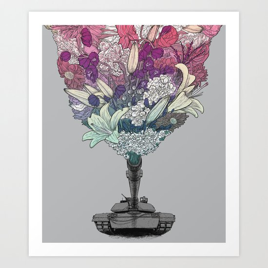 Ka-Bloom Art Print