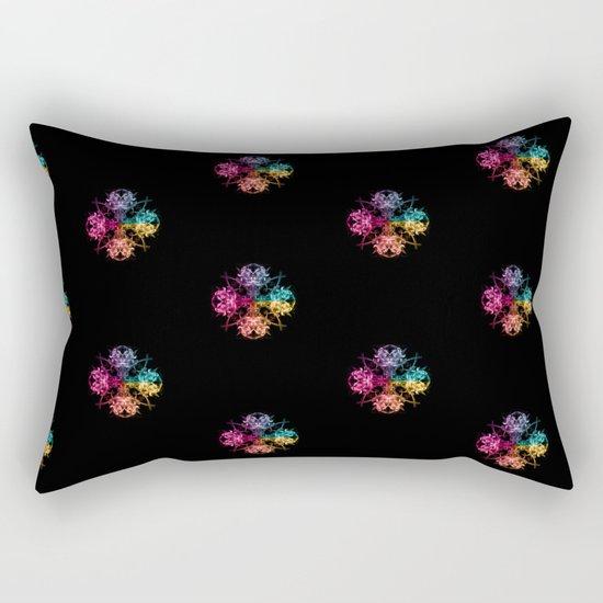 Smoke Art 104 Rectangular Pillow