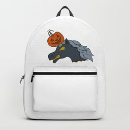 Unicorn pumpkin halloween skewer kids creepy monster zombie gift idea Backpack