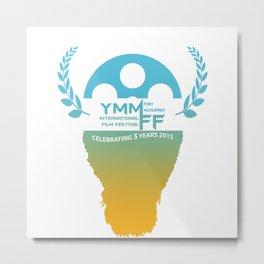 YMMiFF 2015 - BUFFALO HEAD DESIGN Metal Print