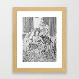 Peace Among Species Framed Art Print