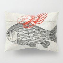 Flying Goldfish Pillow Sham