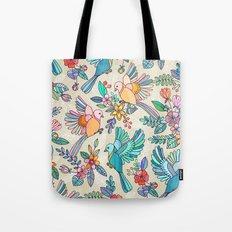 Whimsical Summer Flight Tote Bag