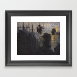 Abstract 2014/12/13 Framed Art Print
