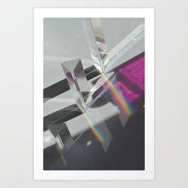 Prisms #3 Art Print
