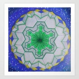 sacred geometry spiritual trip ZB Art Print