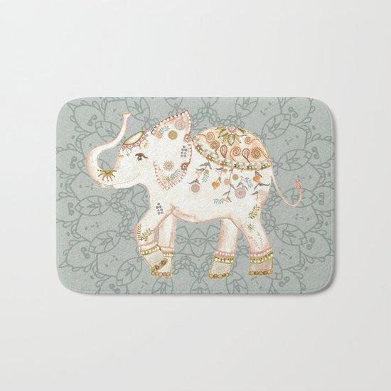 INDIAN ELEPHANT Bath Mat