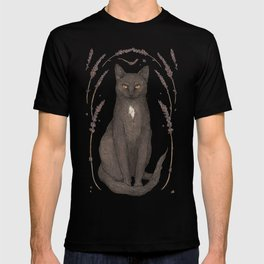 The Cat and Lavender T-shirt