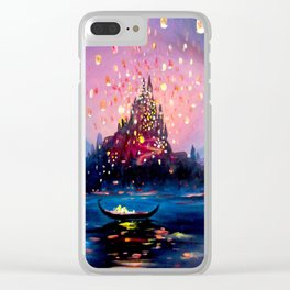 I see the lights Clear iPhone Case