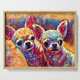 Chihuahua Bros Serving Tray