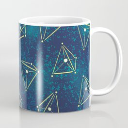 Tetrahedral Molecular Geometry Constellation Art Coffee Mug