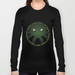 Cthulu Roundel Long Sleeve T-shirt