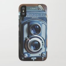 vintage cameras iPhone X Slim Case