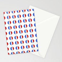 Flag of France 15- France, Français,française, French,romantic,love,gastronomy Stationery Cards