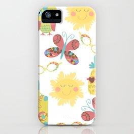 Travel pattern 2u iPhone Case