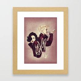 'Vogue' feat G-Dragon & Hye-Kyo Framed Art Print