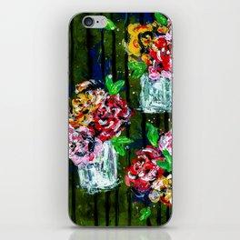 Buckets of Flowers iPhone Skin