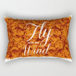 Fly with the Wind Rectangular Pillow