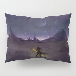 Under the Light from Distant Worlds Pillow Sham