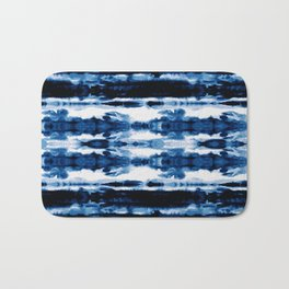 Indigo Stripe Wash Bath Mat