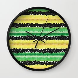 The fields Wall Clock