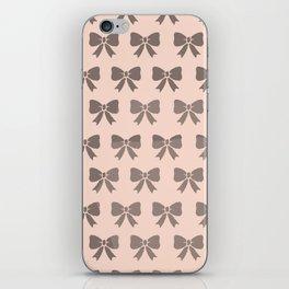 Dotty Bows  iPhone Skin